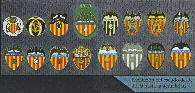 Evolución Del Escudo Del Valencia Historia De Valencia Valencia Escudo