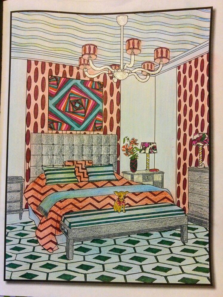 Joan Bosotina Colorest Coloring Book Interior Design By Jade Summer