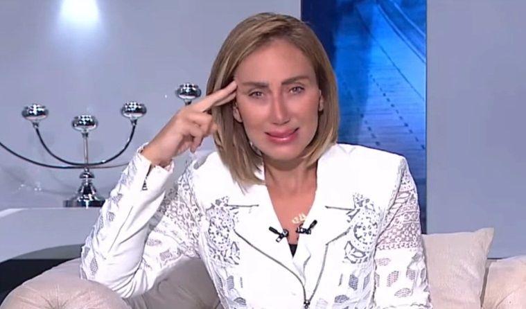 Reham Saeed دموع ثعلب ريهام سعيد تثير غضب المصريين Lab Coat Fashion Coat