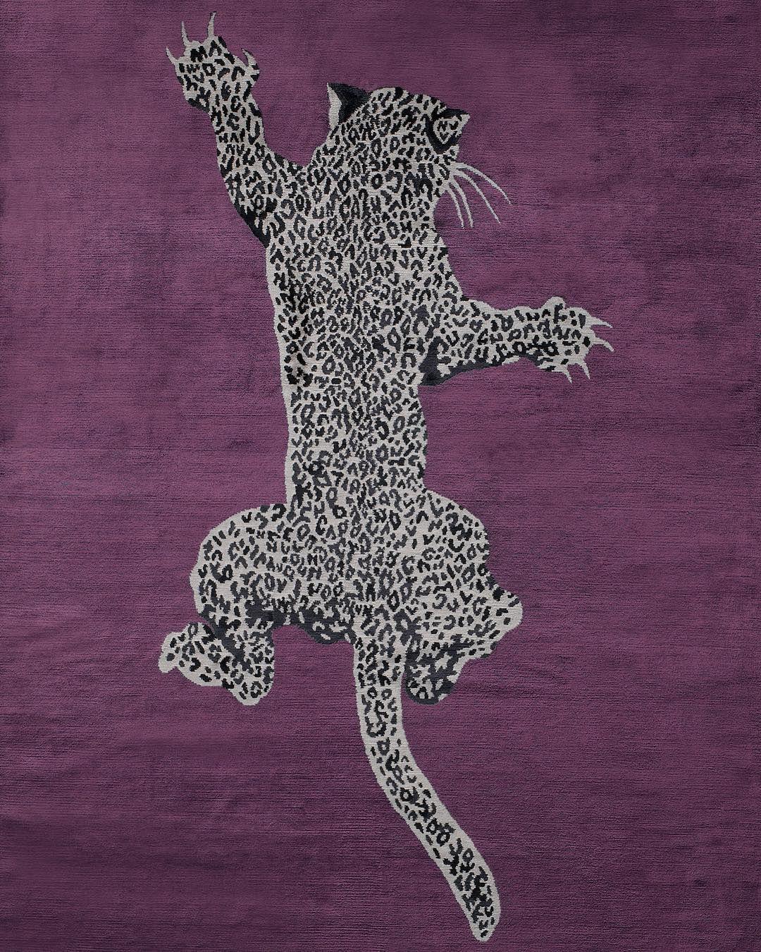 Animal Instinct A Custom Climbing Leopard By Dvf Hand