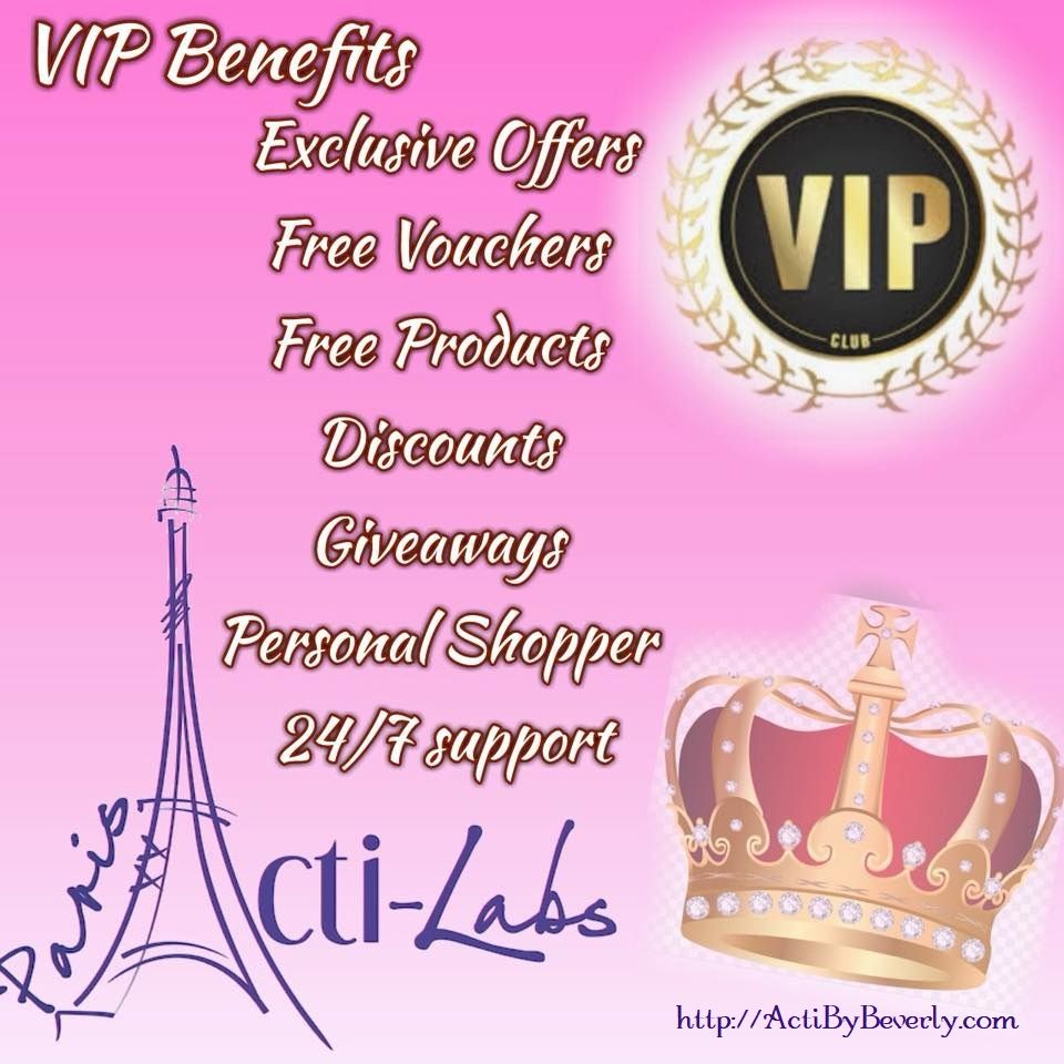 ActiLabs has a BRAND NEW VIP program, exclusively for