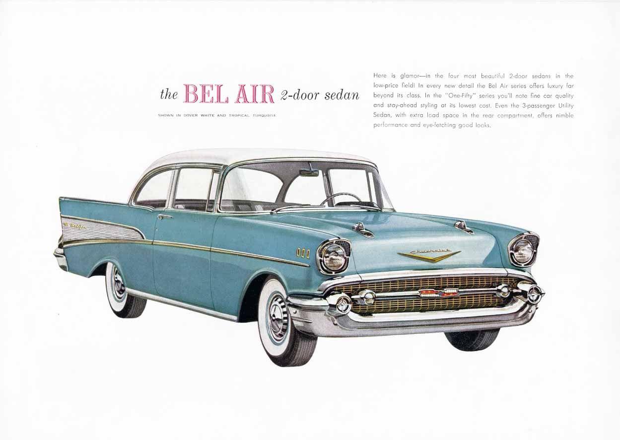 1957 Chevrolet | Vintage Car Ads | Pinterest | 1957 chevrolet and ...