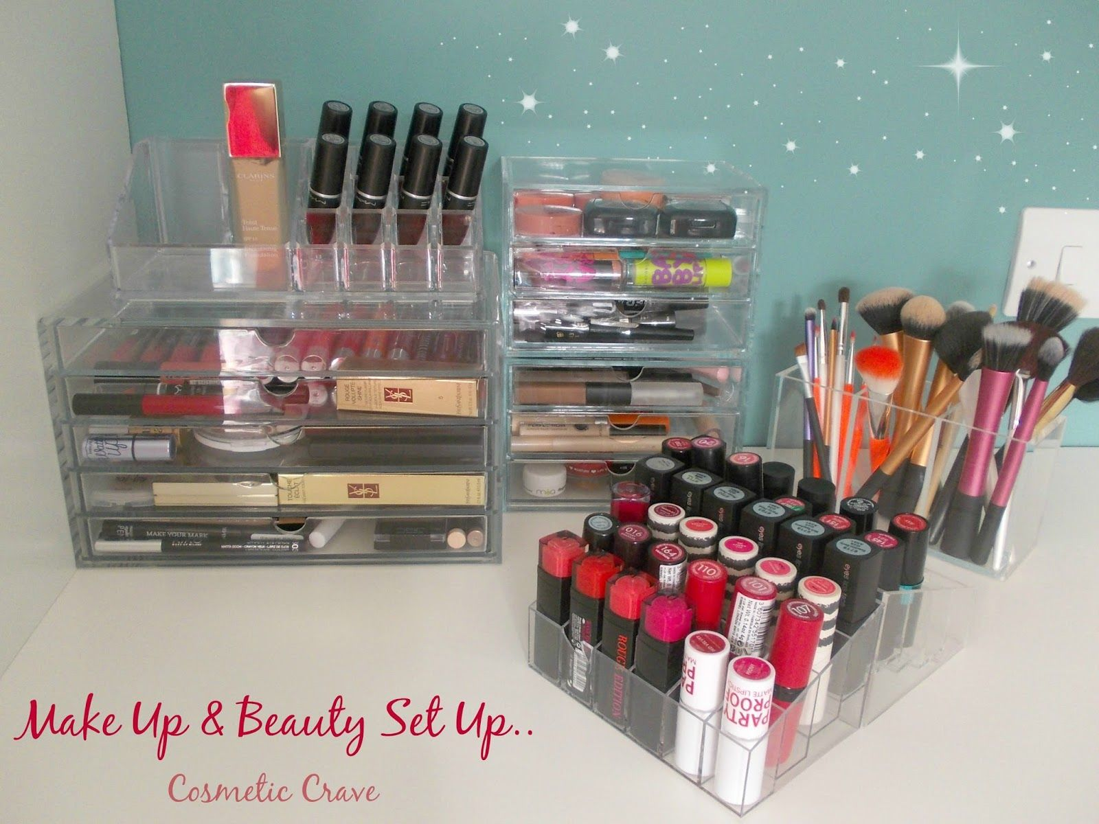 Cosmetic Crave: Muji And Ikea Storage!   Make Up And Beauty Set Up