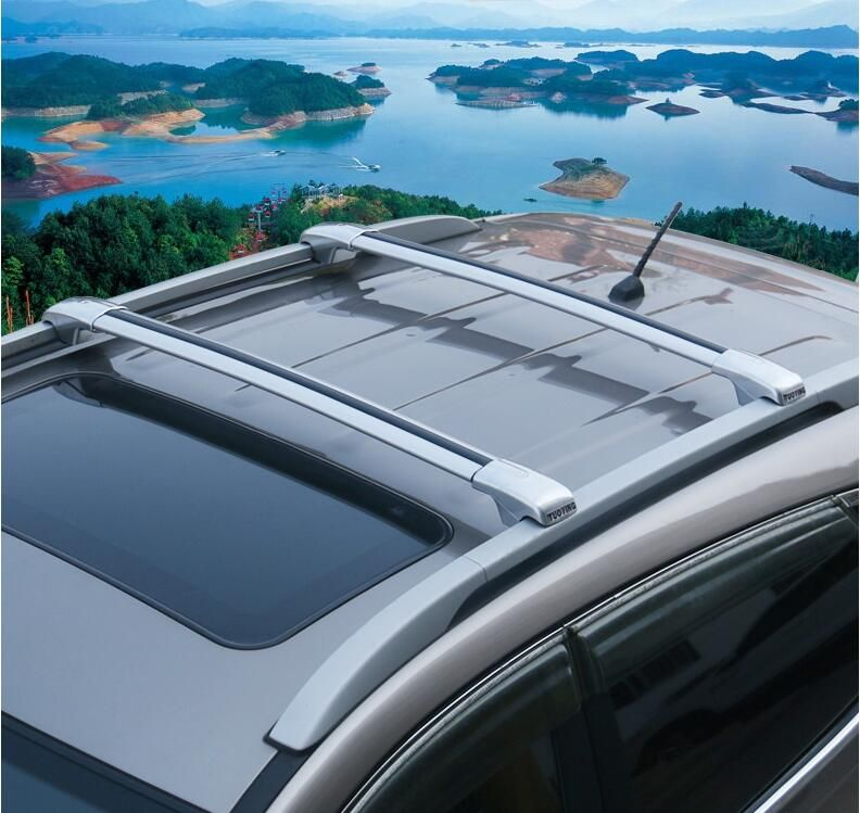 Car Aluminum Roof Rack Rail baggage luggage Cross Bar For