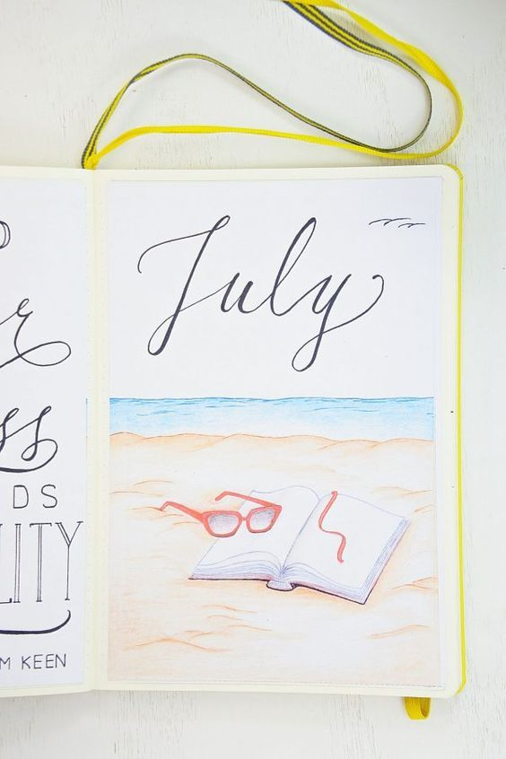 July Monthly Setup with 6 Free Printables ⋆ Sheena of the Journal