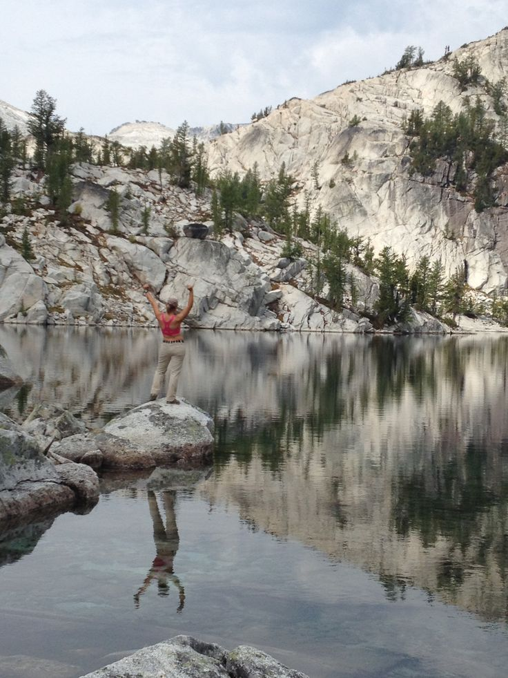 About Camping in washington state, The enchantments