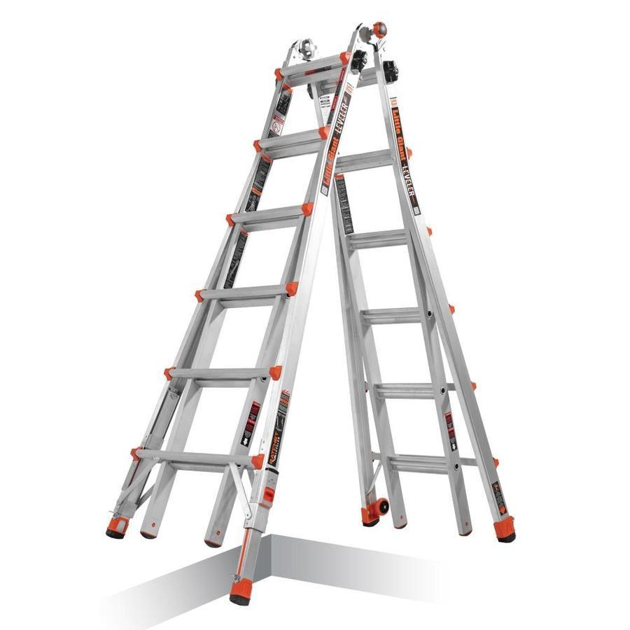 Little Giant Ladders Leveler Aluminum 26 Ft Reach Type 1a 300