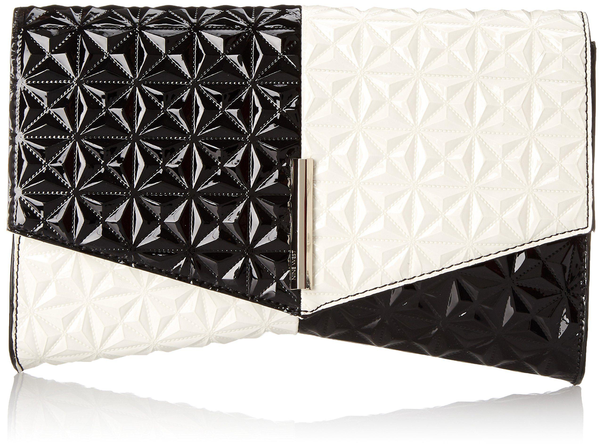 Nine West Collection Clutches Clutch, Black Multi/Black, One Size: Handbags: Amazon.com
