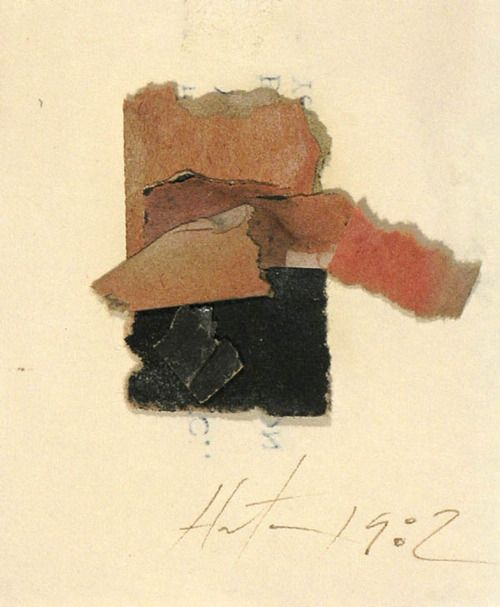 Rick Horton, Untitled (261), 1982. Collage on Paper, 3 1/4 x 2 1/2 inches.