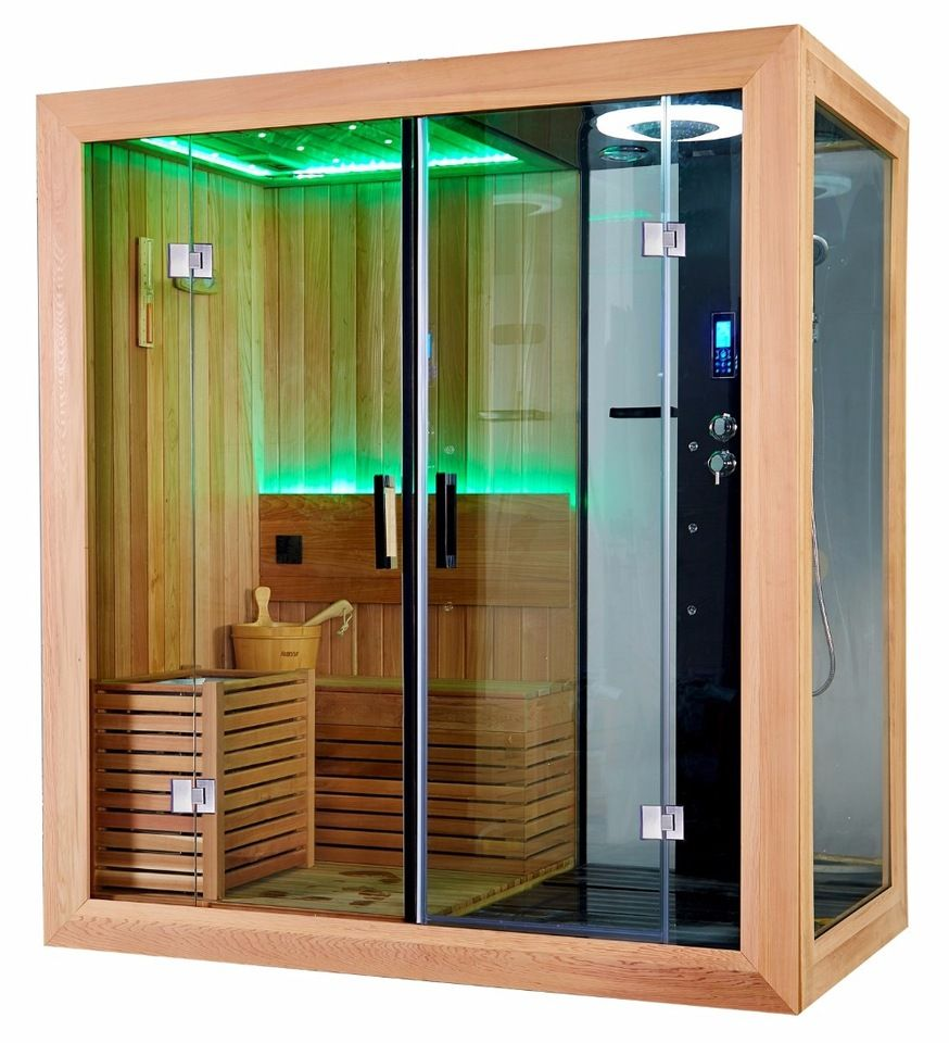 Hot Sales Sauna Shower Steam Cabin Combination Factory