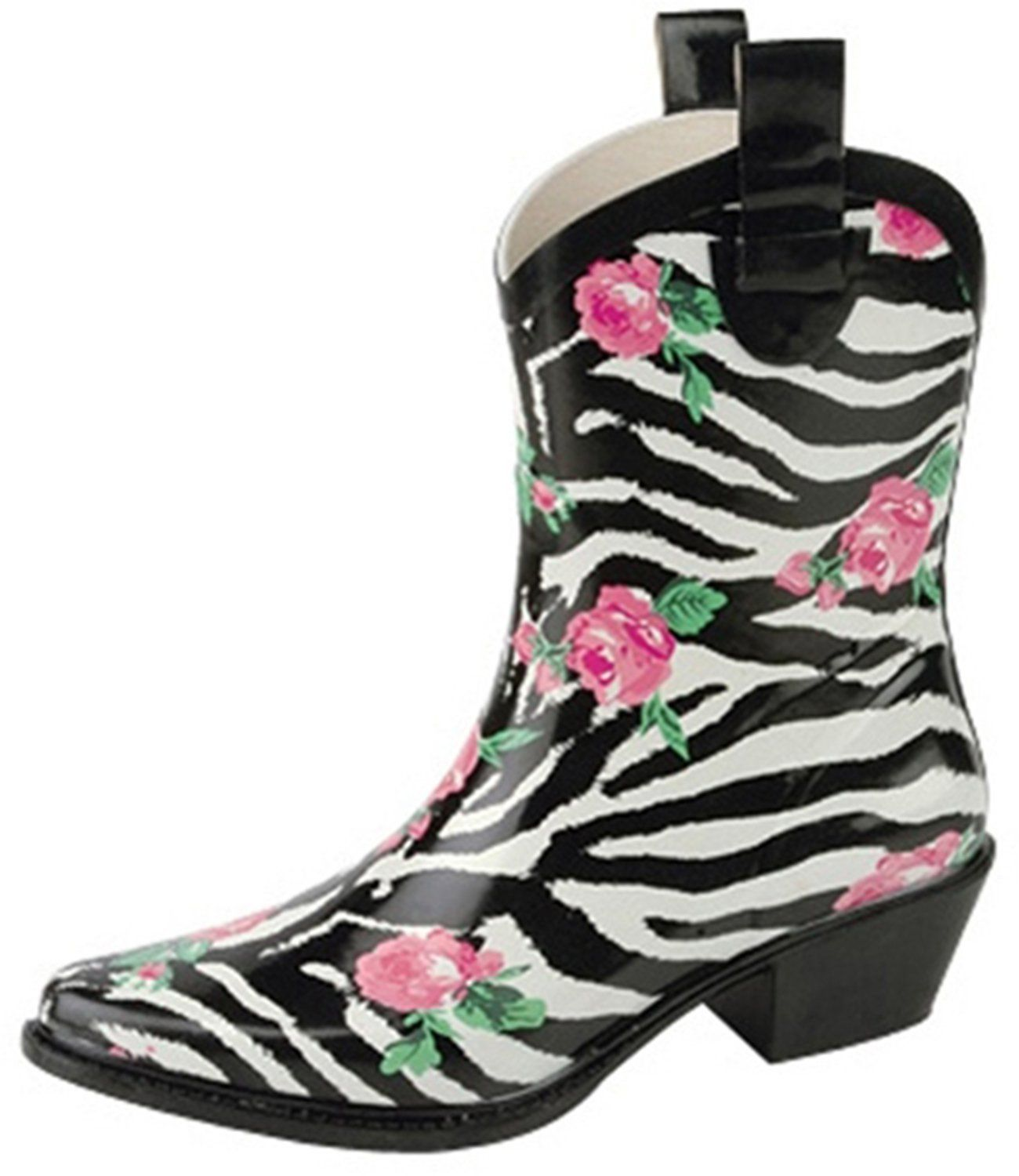 Women's Nature Breeze Cb Rain-21 Ankle Rose Prints Rain Boots Fashion Shoes *** Find out more about the great product at the image link.