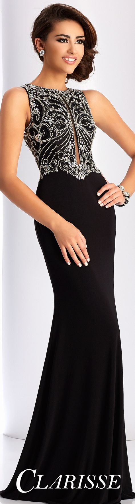 Clarisse prom dress fitted sleeveless prom dress with a fully