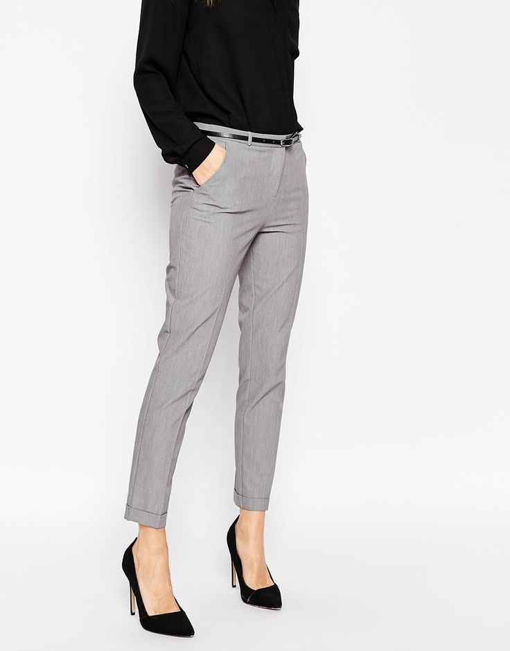 ae2e7aa51c Image result for light grey pants outfit