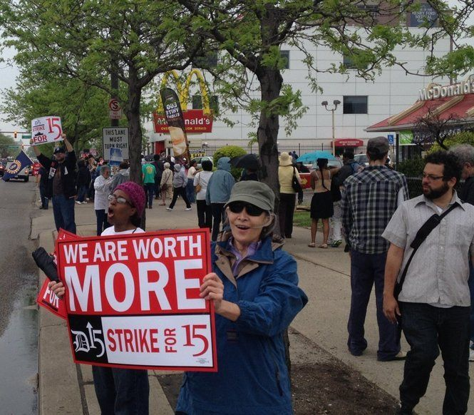 Minimum Wage Protests Planned In Michigan As Part Of National Day Of Action Minimum Wage Wage Hard Truth