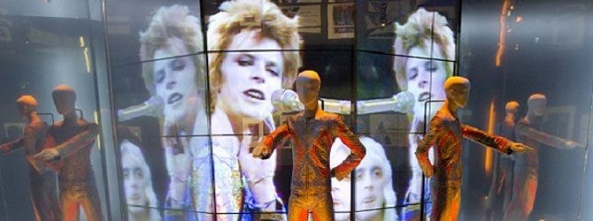 David Bowie is - A Theatrical Event |  ENGLAND London EXHIBITION 2015  www.finnkino.fi