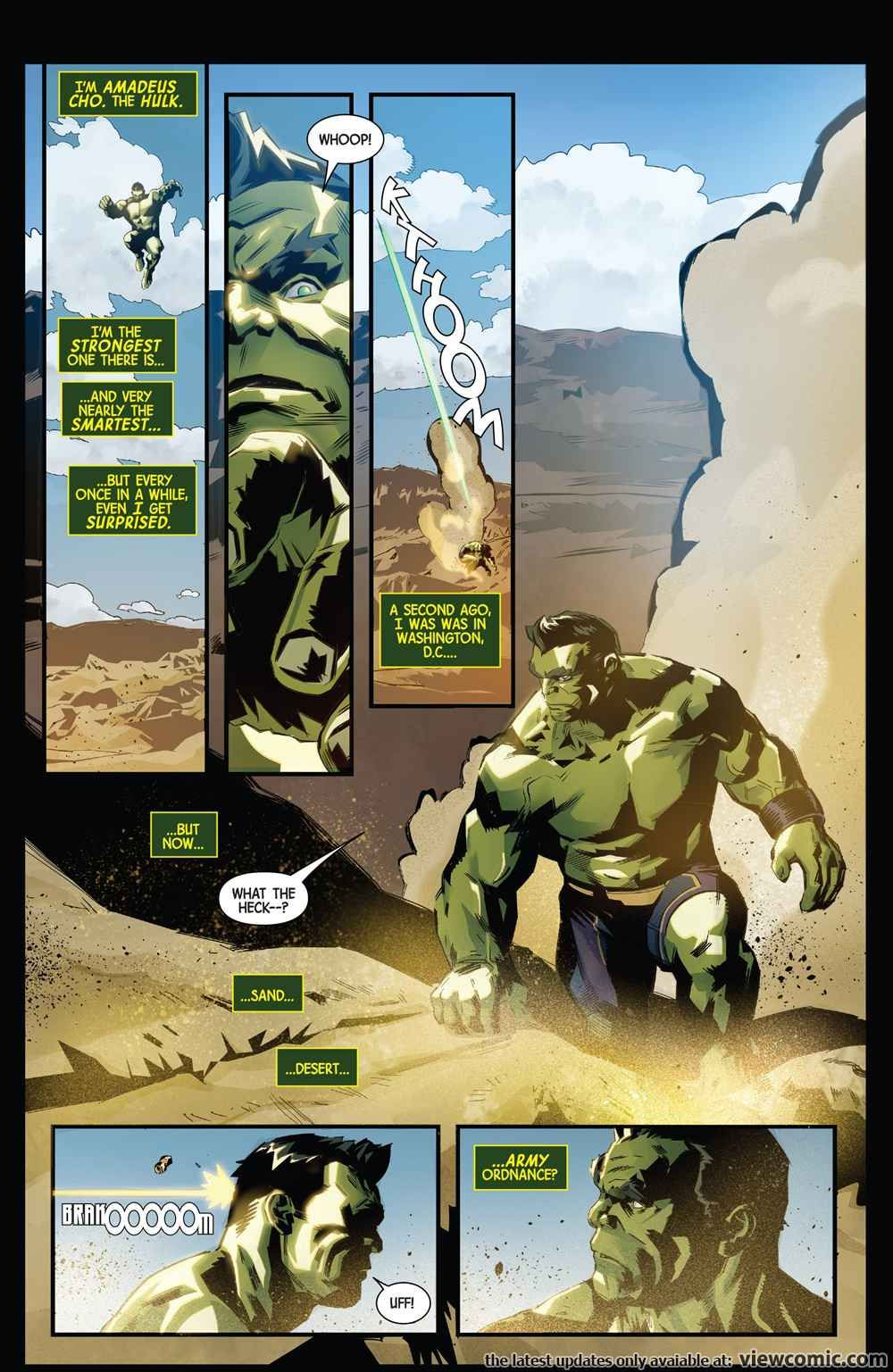 Generations – Banner Hulk & The Totally Awesome Hulk 001 (2017) | View Comic