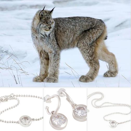 Winterliche Landschaft, kristallklare Luft - es hat etwas Mystisches! ***Schmuck aus Silber und Cubic Zirkonia***