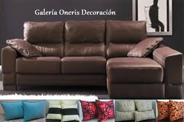 Cojines Sofa Chocolate.Pin De Galeria Oneris Decoracion En Decoracion Hogar