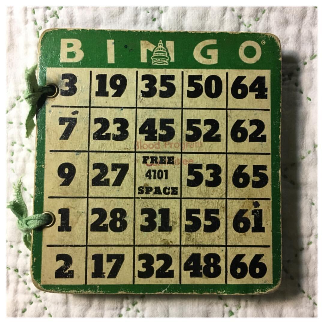 "Jeri Bellini (@recycledparts4art) on Instagram: ""Bingo! #boardbook ..."