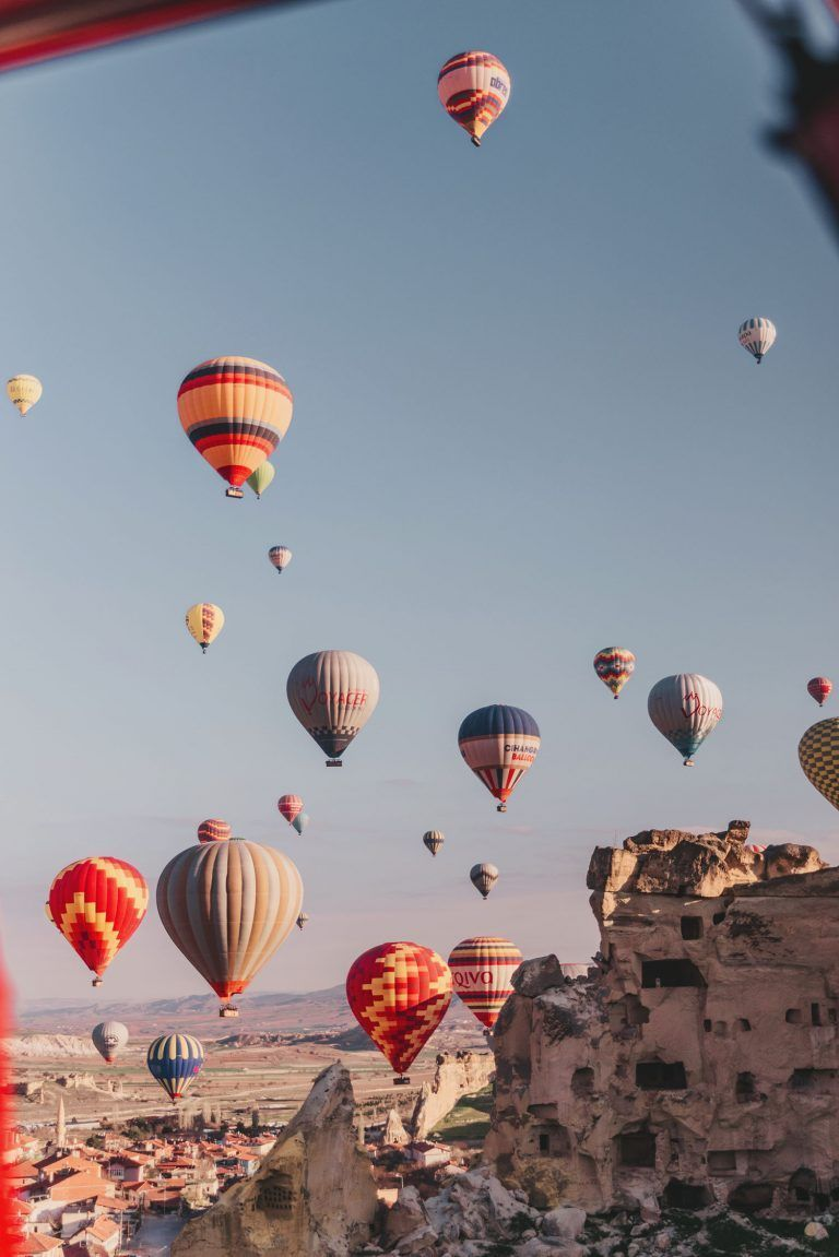Hot Air Ballooning in Cappadocia (a MAGICAL adventure in Turkey!)