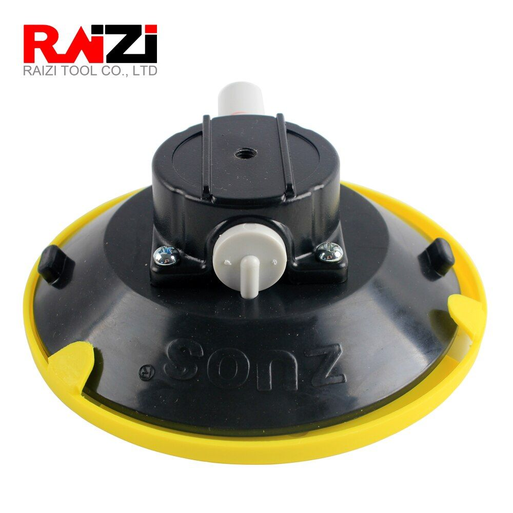 Raizi 6 Inch Vacuum Suction Cups Mount Base M6 Female Thread Hand