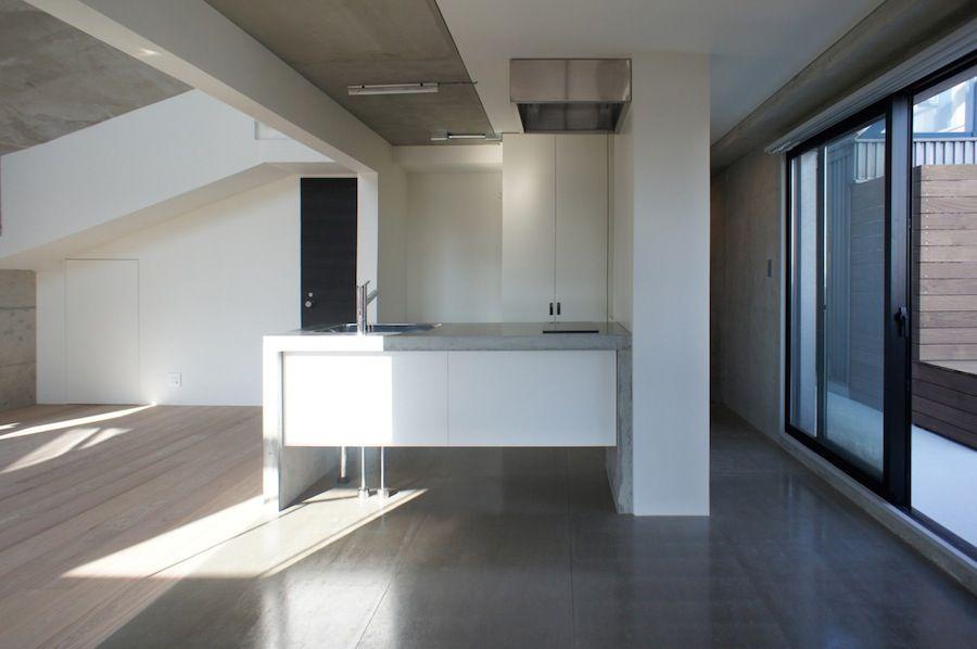 Japan Architects Com フレキシブルボード 家 キッチン