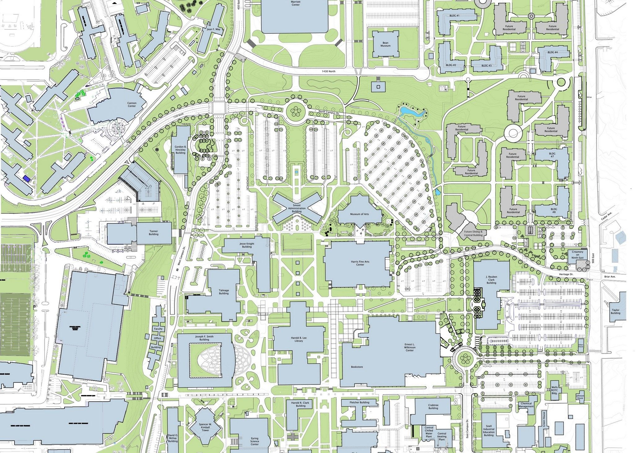 completed view of the campus unification project   brigham young  - completed view of the campus unification project   brigham younguniversity   pinterest
