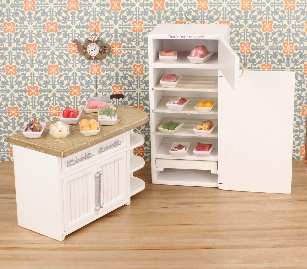 Bandejas de comida casasdemuecas miniaturas miniatures dollhouses