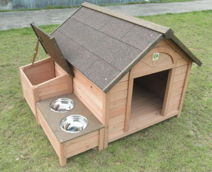 Dh 12 dog house outdoor wooden pet dog house animal home