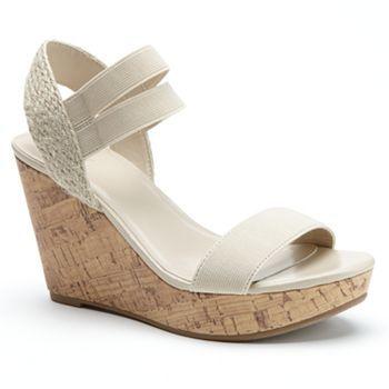 Platform Espadrille Wedge Sandals