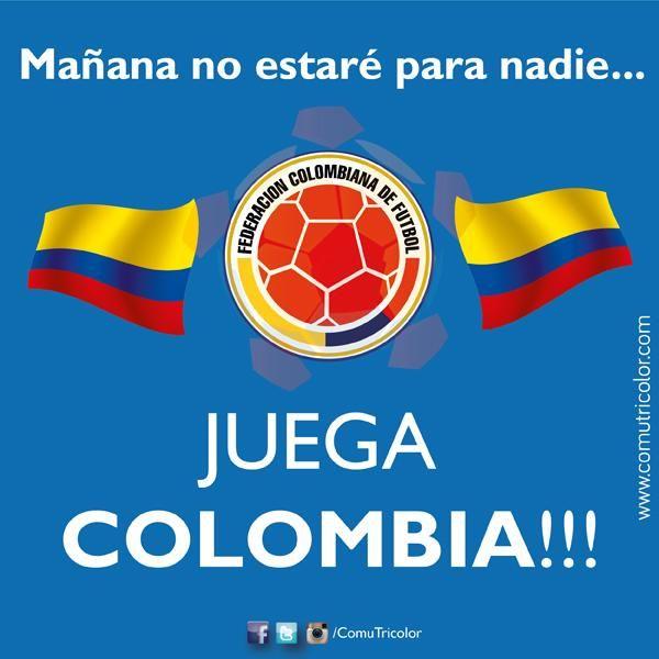 Manana No Estare Para Nadie A Las 6 Pm Seleccion Colombia Fondo