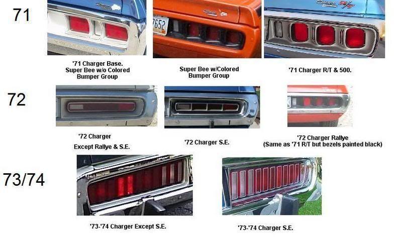 Wtb 71 Charger Tail Light Bezel Left Side Mopar Dodge Charger Car Ads