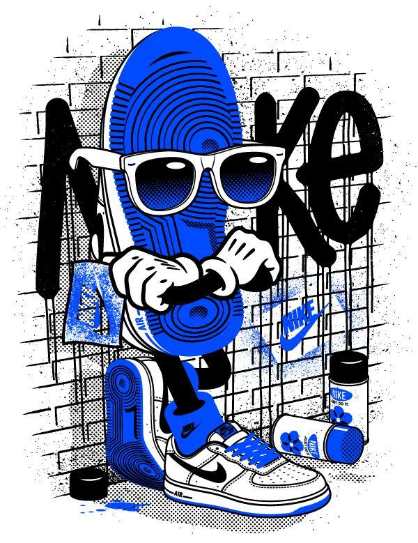 NIKE Apparel Design IV Dibujos de joker, Fondos de