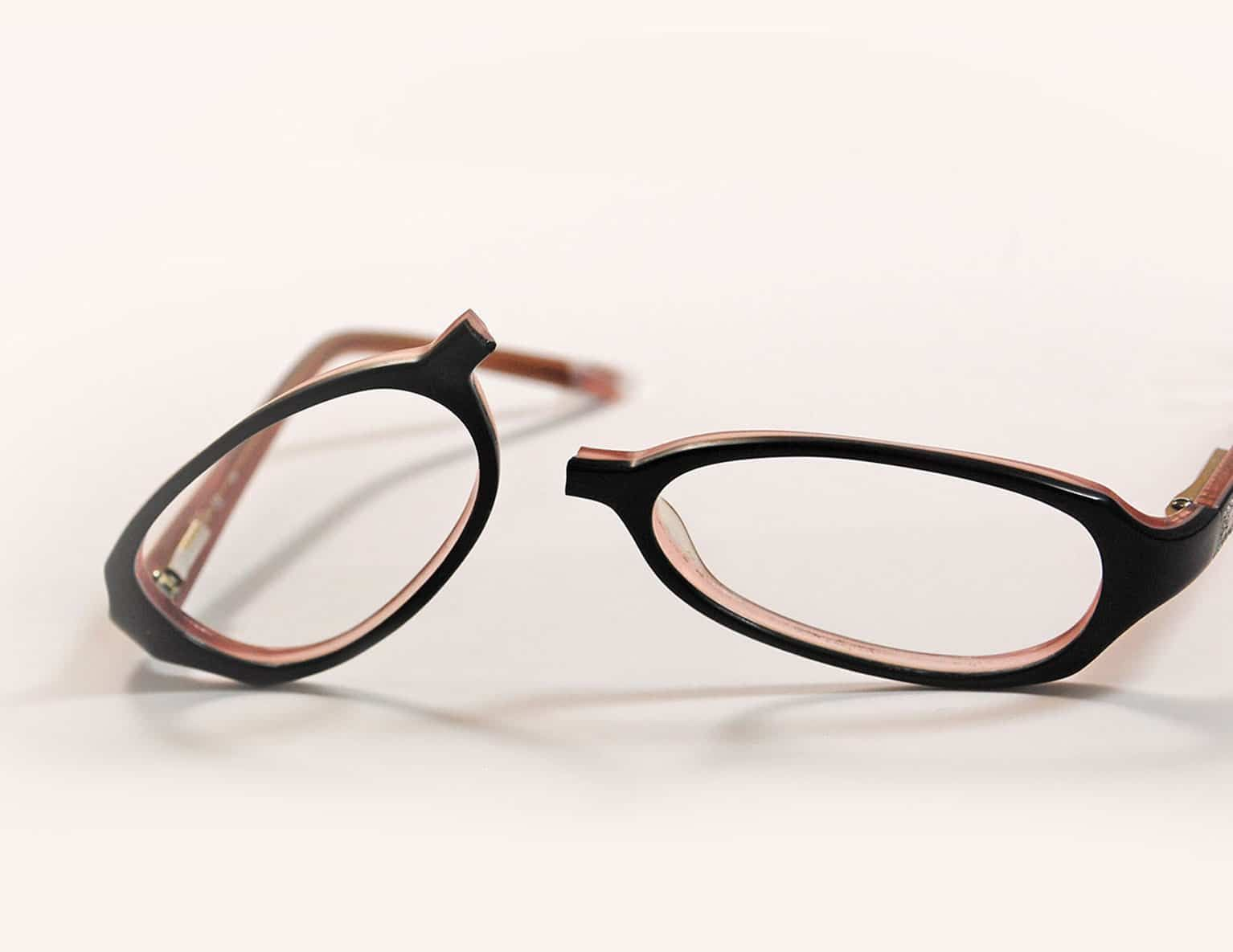 Fixmyglasses can repair over 95% of broken glasses, including ...
