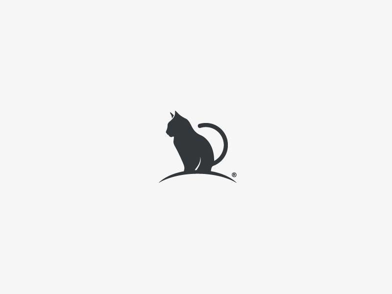 cat cat logos and animal logo