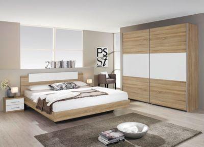 Schlafzimmer Set Mit Bett 180 X 200 Cm In Eiche Sonoma Jetzt