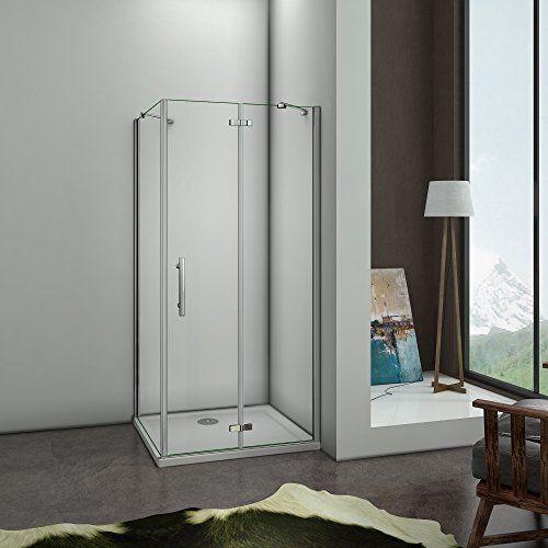 Offerta di oggi 90x70x195cm Box Doccia Angolare Porta