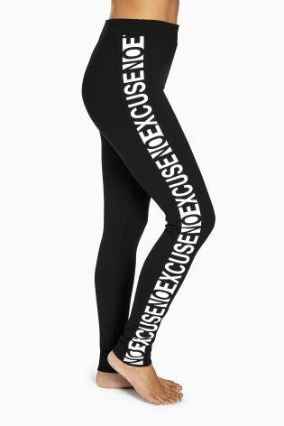 Buy Black Slogan Top from the Next UK online shop