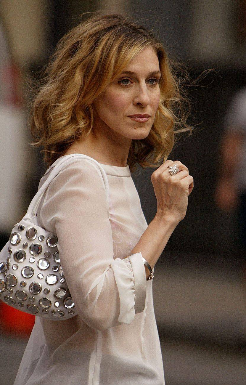 Pin by Yaa Baeta on SJP Carrie bradshaw hair, Sarah