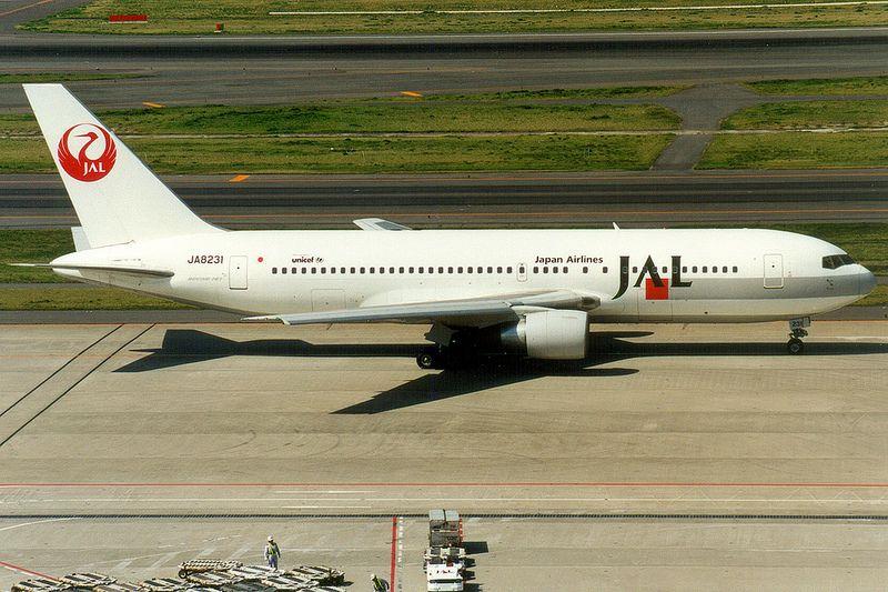 Japan Airlines, Boeing 767-200, JA8231, Tokyo Haneda