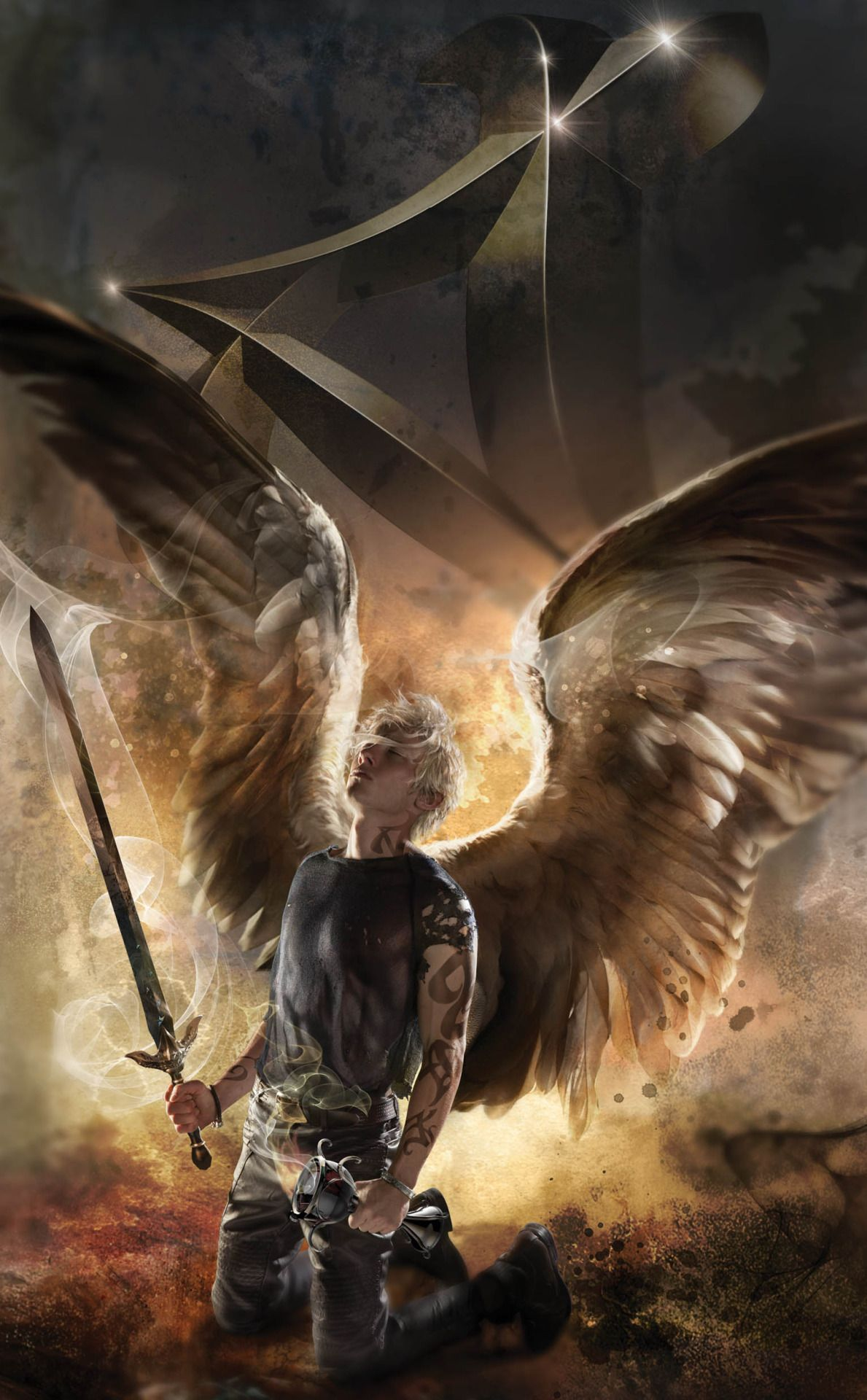 new city of heavenly fire cover art: sebastian/jonathan with