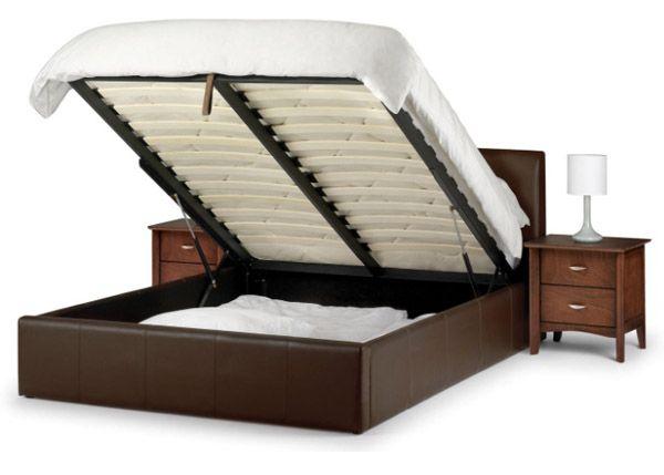 Space Optimisation Ideas For Small Bedrooms Lit Cuir Cadre De