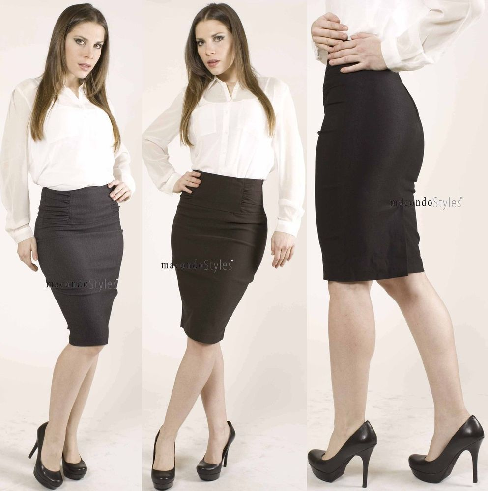 Image result for pencil skirt office carefree extras pinterest