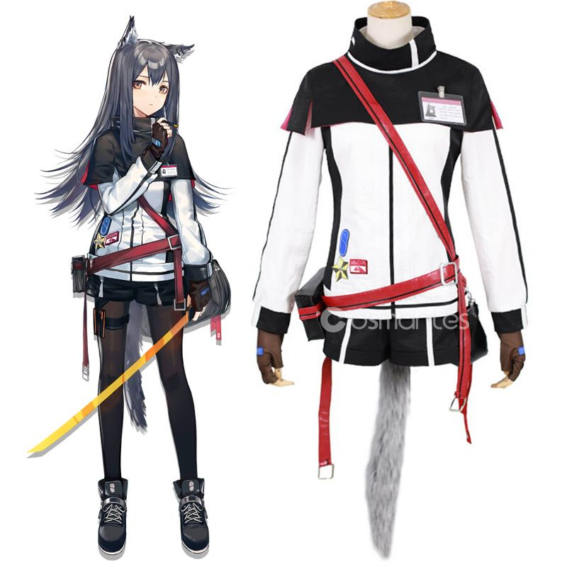 Arknights Texas Cosplay Costume Cosplay Costumes Cosplay Anime Outfits