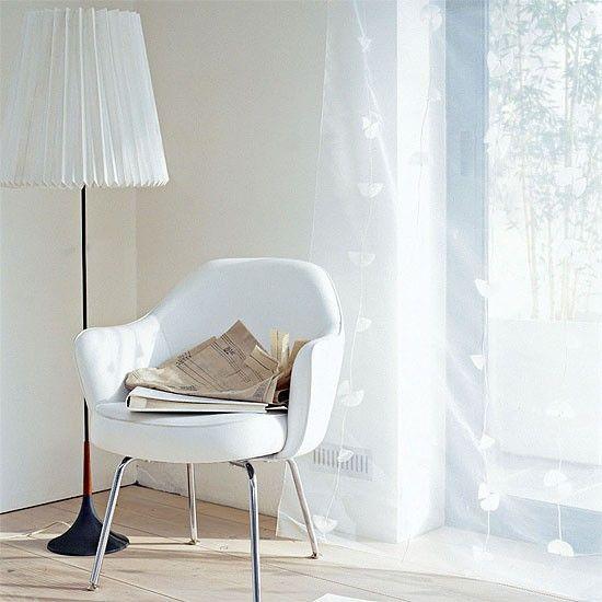 Weiß Wohnzimmer-Ecke Wohnideen Living Ideas Interiors Decoration - deko ecke wohnzimmer