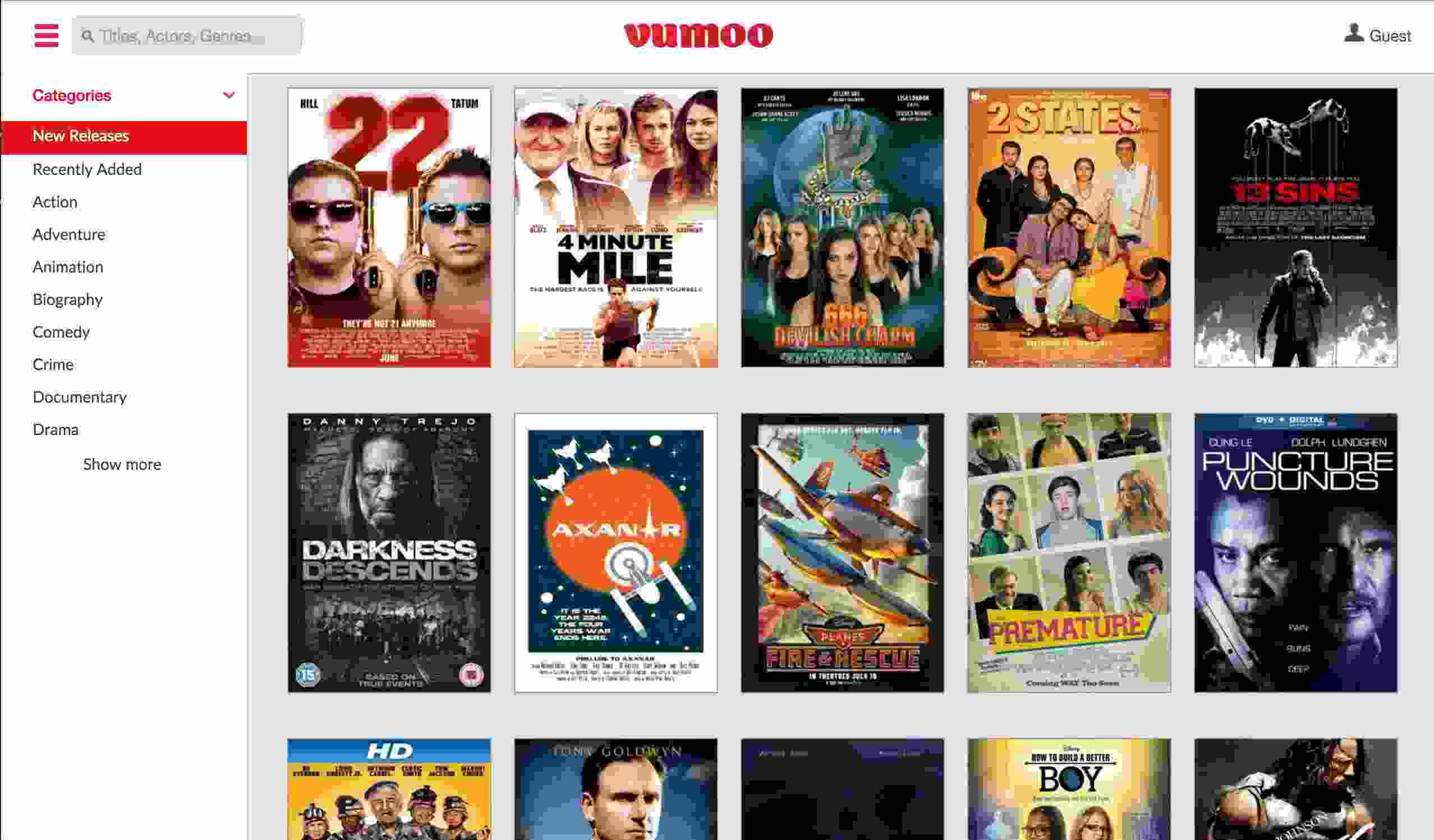 free movie websites and