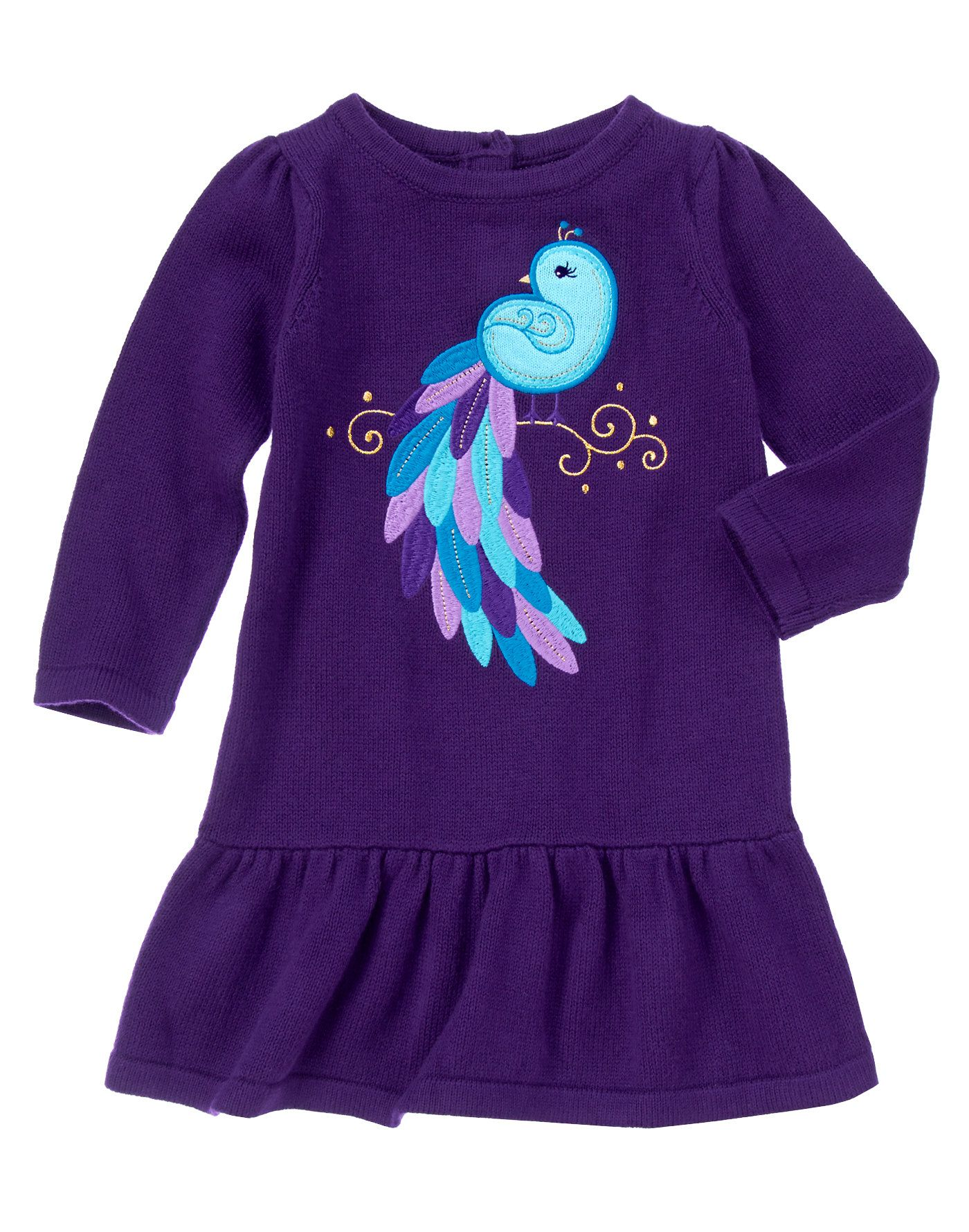 Peacock Sweater Dress | Life With a Child | Pinterest | Gymboree ...