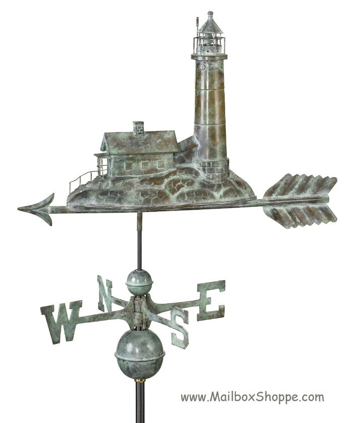 Vintage Tower Of Winds Weathervane: Lighthouse Weathervane - $329.00