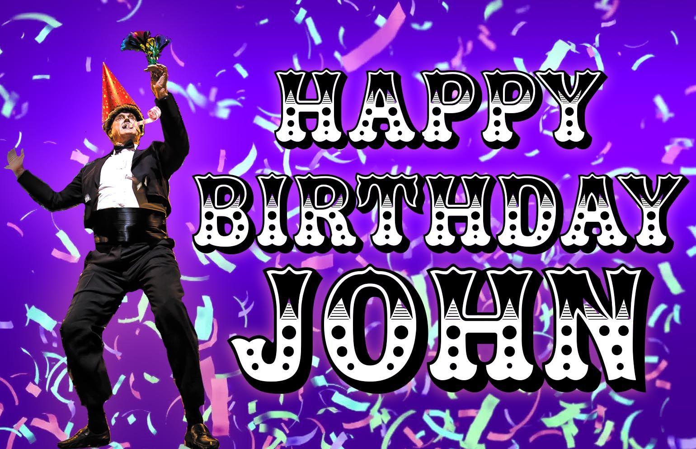 Happy birthday image for dancer john happy birthday