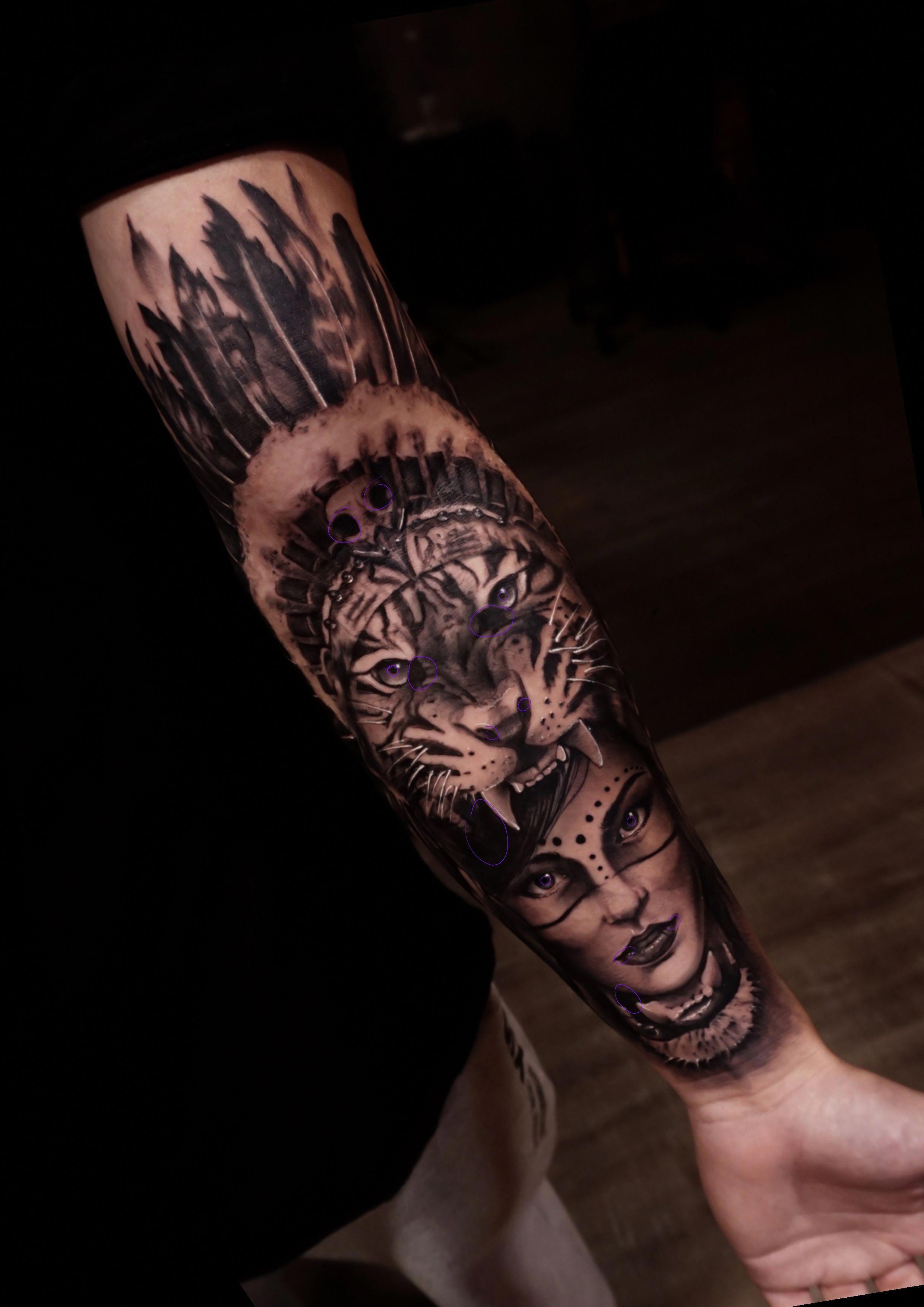 c6819dd6b171b Tattoo de caçadora #Maoritattoos | Maori tattoos | Tattoos for guys ...